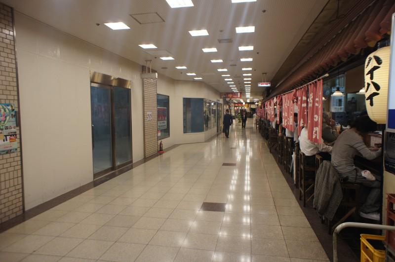うえほんまちハイハイタウン空き店舗:地下1階126号A区画:21.91坪