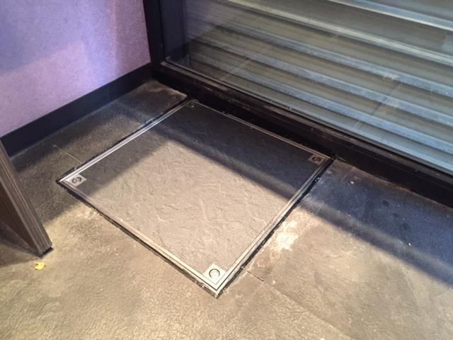 貸店舗における床下点検口の扱いについて