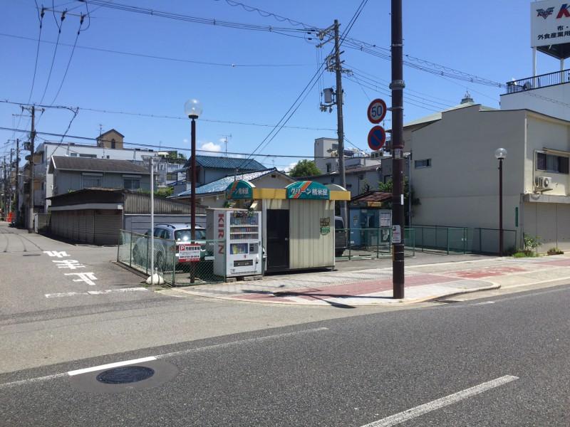 万代一丁目ロードサイド:建築予定平屋店舗(三方角地)